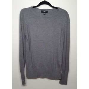 Mossimo  Swoop Neck Gray Sweater Size XL